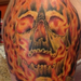 Tattoos - Fiery Skull - 86247