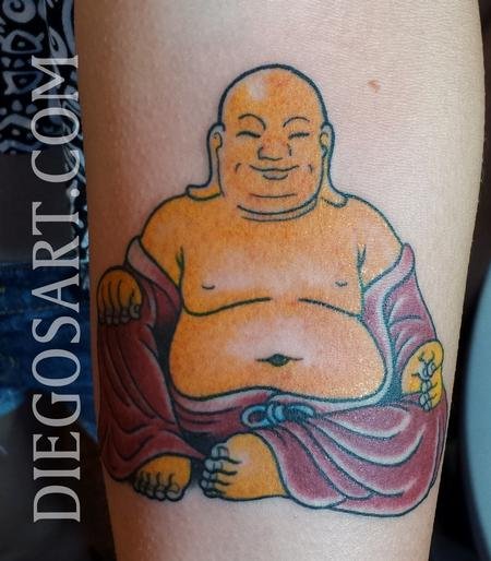 Tattoos - Little Buddha Tattoo - 84159