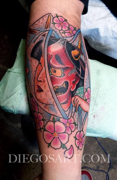 Tattoos - Geisha/Hannya tattoo - 84223