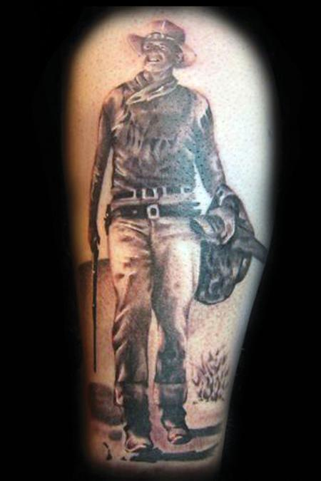 John Wayne Tattoo - LiLz.eu - Tattoo DE