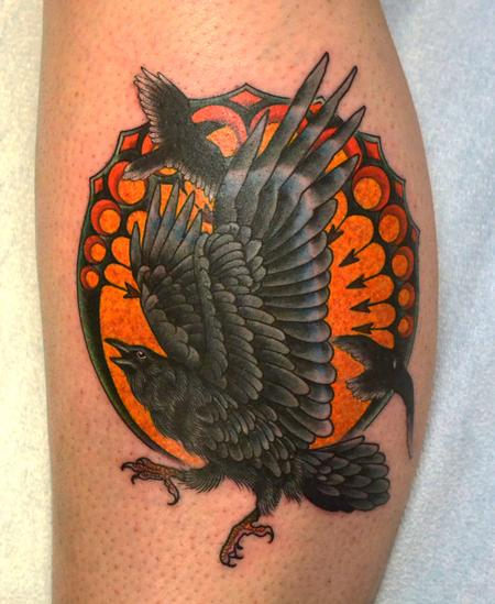 Tattoos - Ravens Tattoo - 77022