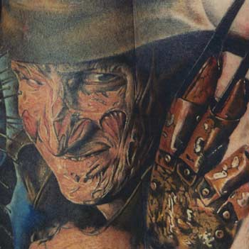 Tattoo Artist on Looking For Unique Cory Cudney Tattoos  Freddy Krueger