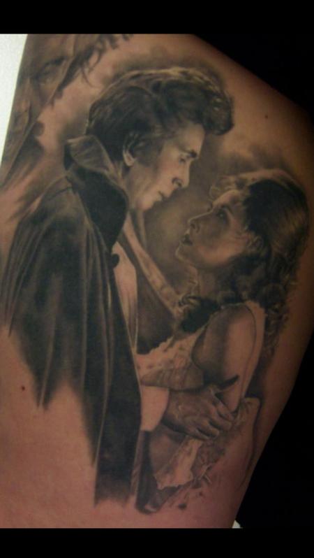 Tattoos - Dracula and Bride of Dracula - 119190