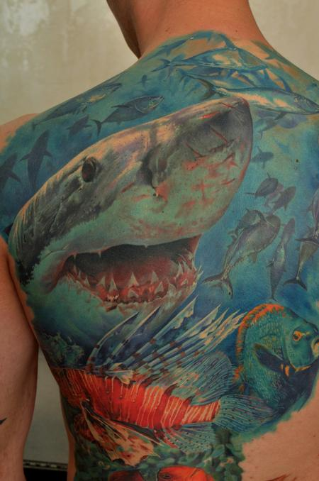Shark Tattoo Design Thumbnail