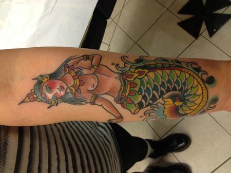 Tattoos - MERMAID - 72939