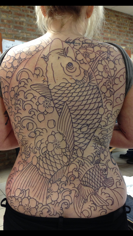 Tattoos - KOI IN PROGRESS - 79305