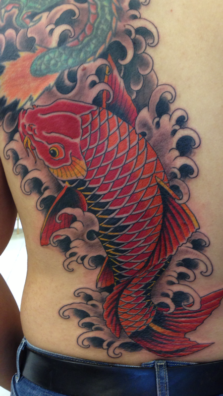 Deluxe tattoo tattoos traditional japanese hanya for Japanese tattoo chicago