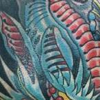 BIO DRAGON Tattoo Design Thumbnail