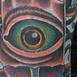 Tattoos - HAND AND EYE - 110050