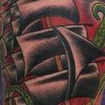 Tattoos - SHIP AND KRAKEN - 121829