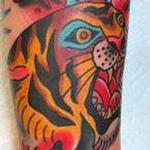 Tattoos - TIGER AND DAGGER - 126436