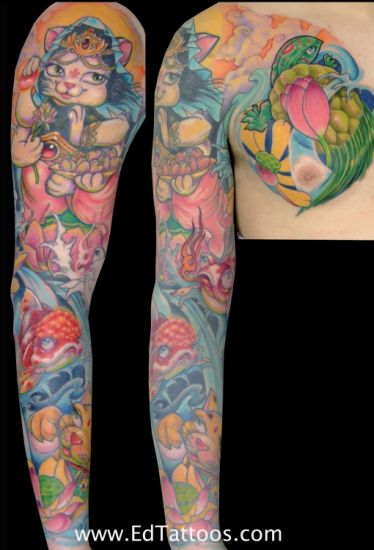 Ed Perdomo - kitty sleeve