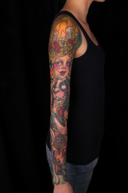 Ed Perdomo - full color Bunny Sleeve