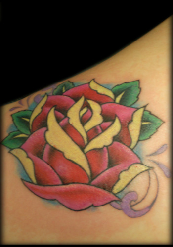 Tattoos Traditional Old School tattoos Traditional Rose 55