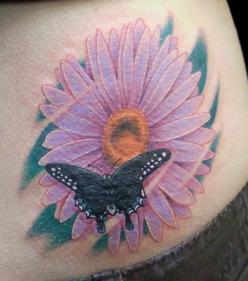 daisy tattoos pics. Tattoos? Big ol#39; daisy