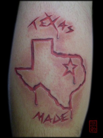 texas made 2 hours by eddie loven tattoonow. Black Bedroom Furniture Sets. Home Design Ideas