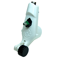 White Little Ego Rotary Tattoo Machine