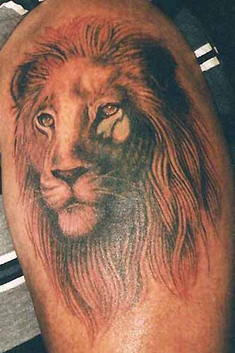 Electric Linda - Lion Cover-up