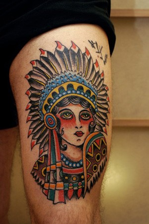 American Indians Tattoos on Tattoos   Traditional American Tattoos   Page 5   Indian Tattoo