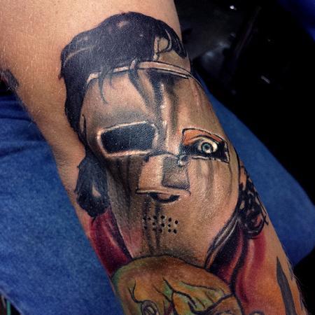 Travis Broyles - Quiet Riot - Metal Health Tattoo