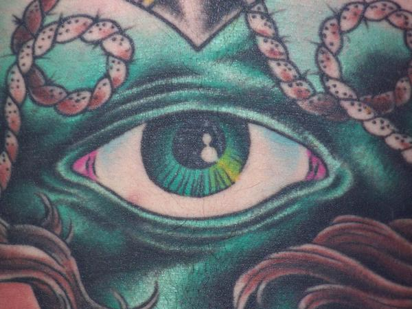 Oliver Peck Tattoos Gallery Traditional Eye Tattoo...