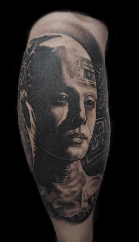 Tattoos - borg queen, from Star Trek - 129865