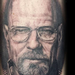Walter White Portrait Tattoo Design Thumbnail