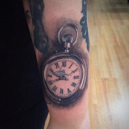 pocket watch  Tattoo Design Thumbnail