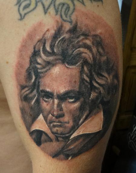 Tattoos - Old Man Beethoven - 76090