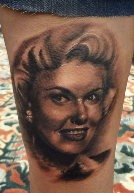 Tattoos - Portrait of Doris Day - 79538