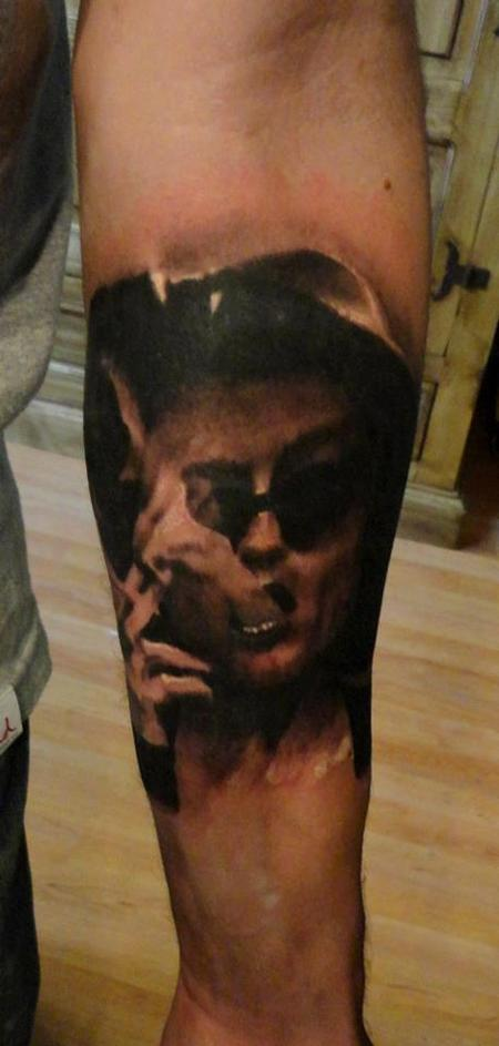 Ian Robert McKown - tattoo of the day fightclub