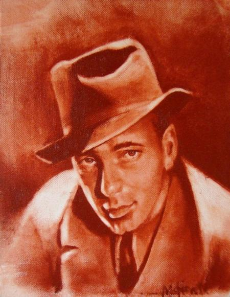 Tattoos - Humphrey Bogart 11x14