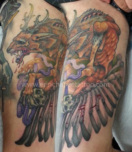 Tattoos - Wendigo - 93418
