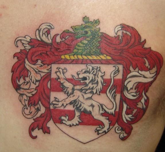 5fc299f7979bd New Tattoo trend: 20+ Alluring Coat Of Arms Tattoo