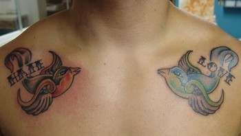 Tattoo Love Birds on Tattoos   Page 788   Love   Hate Birds