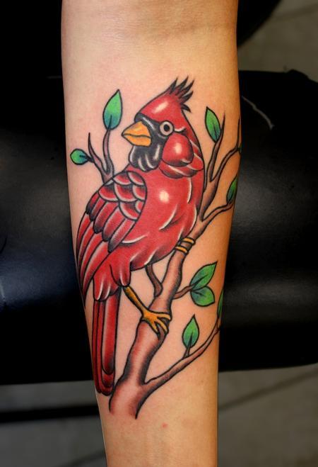 Paradise Tattoo Gathering : Tattoos : Myke Chambers : Cardinal Tattoo