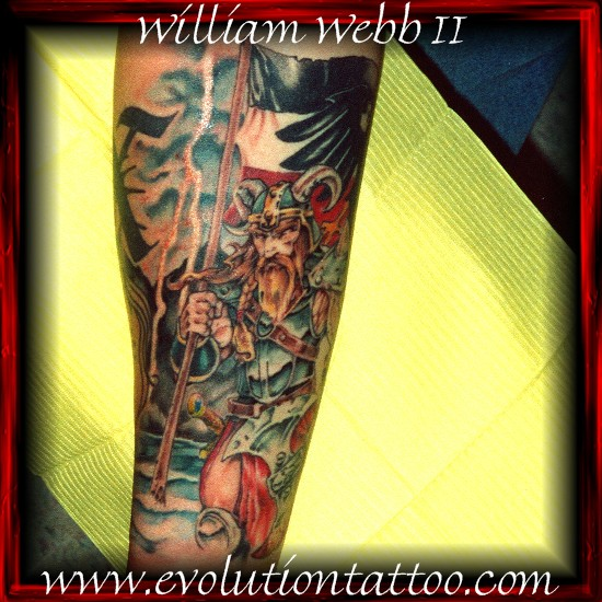 Viking by billy webb ii tattoonow for Evolution tattoo studio