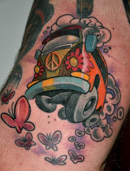 JIMMYLAJNEN - VW Bus Tattoo