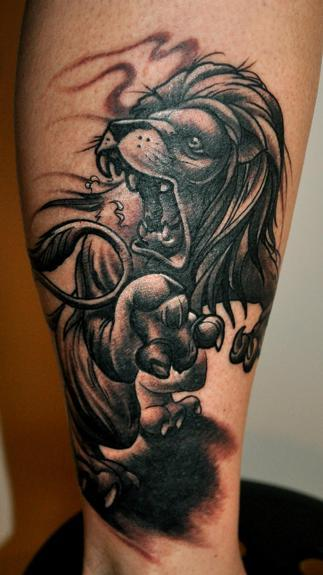 JIMMYLAJNEN - lion tattoo