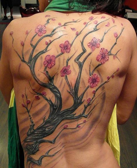 Cherry Blossom Tree Work in