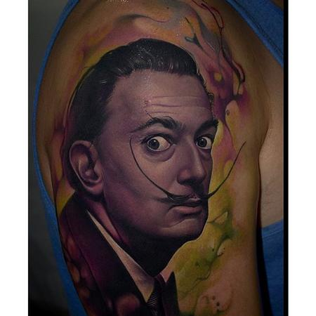 Tattoos - Dali Tattoo - 110132