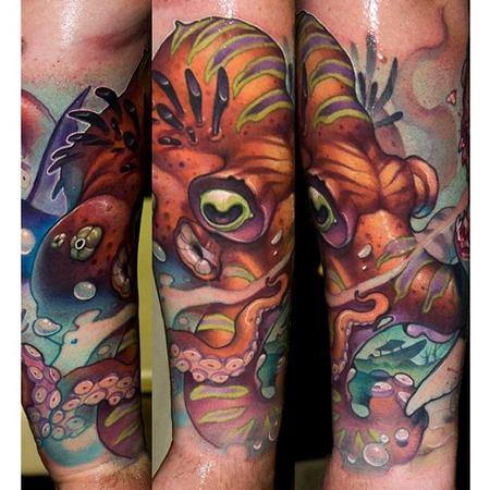 Tattoos - Octopus Tattoo - 110131