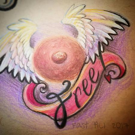 39 s tattoo designs tattoonow for Nipple tattoo heart