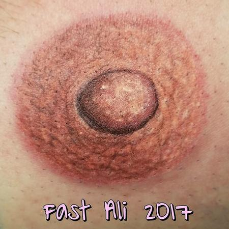 3D Nipple Tattoo Design Thumbnail