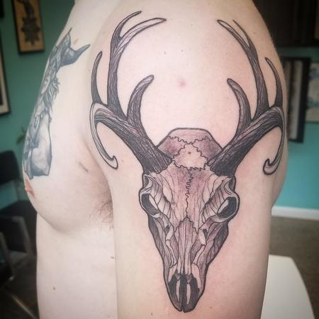 Mike's Deer skull Design Thumbnail