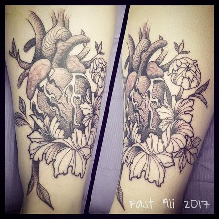 Tattoos - Katy's Anatomical heart and stuff - 128358