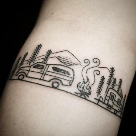 Tattoos - Aly's camping memories - 129718