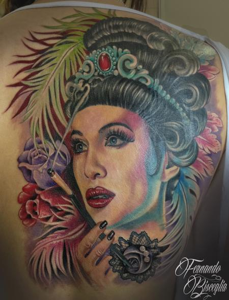Sandra Tattoo Design Thumbnail