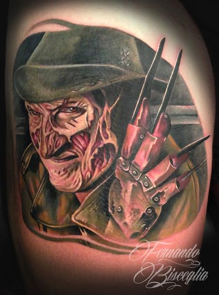 Tattoos - Freddy krueger - 95801