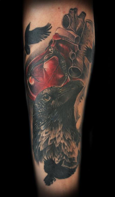 Tattoos - Raven tattoo - 91272